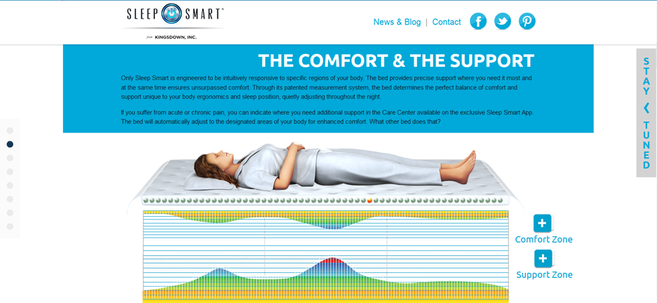 Sleep Smart Web Site
