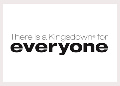 Kingsdown new tagline Logo